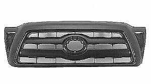 Sherman Parts 8125 99 2 Front Grille 2005 2010 Toyota Tacoma Gloss Black Finish