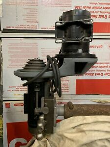 Halco V Mill Head 2 Shaft 1hp Burke Hardinge Benchmaster Sheldon