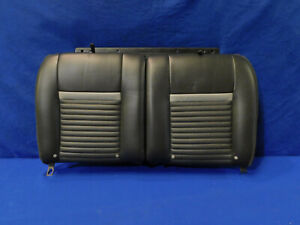 03 04 Mustang Mach 1 Coupe Charcoal Rear Leather Upper Seat H79