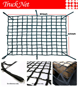 Fit Gmc Pickup Truck Heavy Duty Cargo Net Extended Extend Ext Cab 8 5ft Bed Web