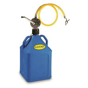 New Flo fast 15 Gallon Fuel Container With Pro Model Fuel Pump