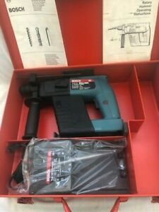 Bosch 11213 Cordless 5 8 Rotary Hammer Drill Mde In Germany New old Stock