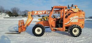 2000 Skytrak 5028 Telehandler Fork Lift Telescopic 4x4 Foam Filled Tires