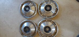 1966 1967 Chevelle Hubcaps Free Shipping