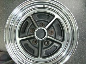 Wheel 1970 S 1980 S Buick Rally Rim 14x6 Jj Stamped Wo With 4 3 4 Bolt Pattern