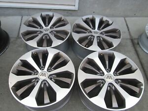 20 Ford F150 Factory Fx4 Charcoal Wheels Rims Set 4 King Ranch