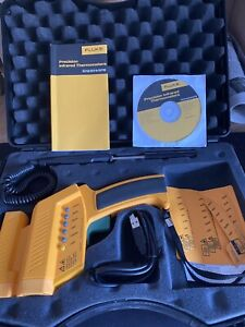 Fluke 576 Non Contact Handheld Precision Infrared Thermometer Ir