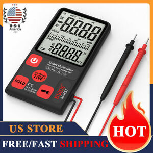 Adms7 Portable Digital Multimeter Auto Ac dc Voltage Meter Ohm Tester Lcd O8z6