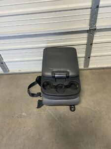 2003 2018 Dodge Ram 1500 2500 3500 Center Jump Seat Console Grey Leather