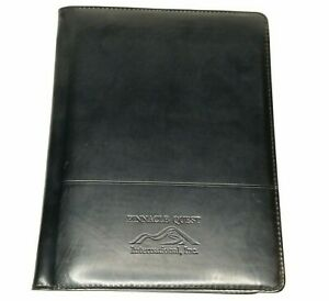 Leeds Faux Leather Portfolio Windsor Reflections Writing Pad Pinnacle Quest Inc