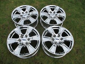18 Ford F150 Oem Factory Pvd Chrome Alloy Wheels Rims 3998 2006 2020