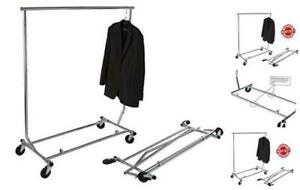 Gr100 Heavy Duty True Commercial Grade Rolling Rack Designed With Solid one