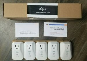 Kmc Wi fi Smart 5 plugs With Energy Monitoring Free Shipping