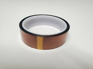 Kapton Tape Polyimide Amber 1 In X 36 Yards