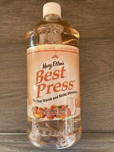 Mary Ellen#x27;s Best Press Peaches amp; Cream 33.8oz clear starch sizing alternative $23.75