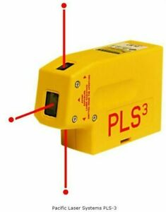 Pacific Laser Systems Pls3 3 point Laser Level Only