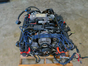 98 1998 Ford Mustang Gt 4 6l Sohc Engine Motor Assembly 115k Mile Take Off I54