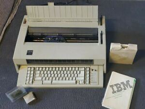 Ibm Quietwriter 8 Typewriter With Manual And Accessories