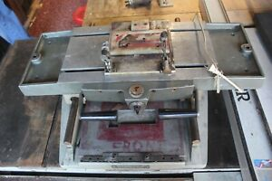 Thomson Model 100 Mill Drill Table Duplicator Fully Functional 32 x 23 x 9