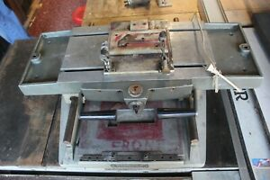Thomson Model 100 Mill Drill Table Duplicator Fully Functional 32x 23x 9