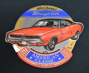 Snap On Tools 1969 Dodge Charger R T Vintage 426 440 Mopar Muscle Sticker Decal