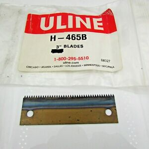 Uline H 465b 3 Replacement Blade For 465 Heavy Duty Tape Dispenser H 465