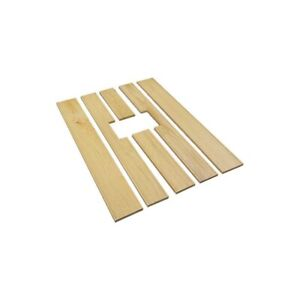 Model A Ford Pickup Bed Floor Wood Strip Kit 6 Pieces For Narrow Bed