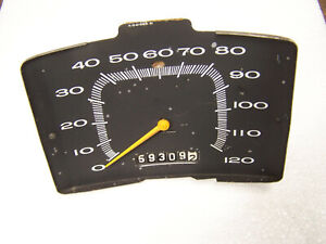 Mopar 1965 Plymouth Speedometer 65 Satellite Belvedere