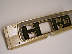 Mopar 1965 Plymouth Guage Instrument Panel Bezel 65 Satellite Belvedere