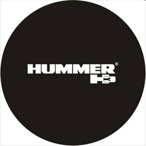 Spare Wheel Tire Cover Fit For Hummer H3 Black Tire Cover