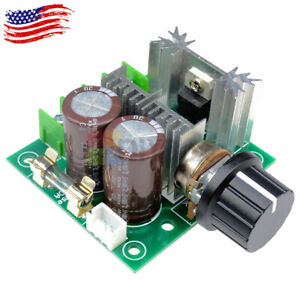 12 40v 10a Pwm Dc Motor Speed Control Switch Controller Voltage Regulator Dimmer