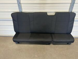 2008 2016 Ford F250 F350 Super Duty Extended Cab Rear Seat Black Cloth