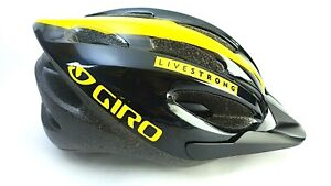 Giro Livestrong Special Edition Indicator Bicycle Helmet Adjustable 54 61cm $51.99