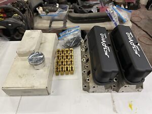 Trick Flow Twisted Wedge Cylinder Heads Ford 302