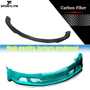 Carbon Fiber Front Bumper Lip Spoiler Body Kit For Bentley Continental 2012 2014