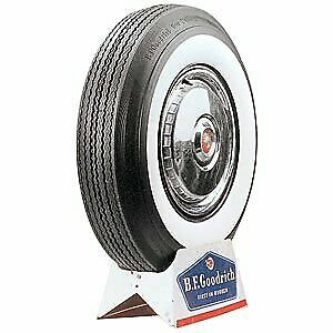 Coker Tire 54300 Coker Bfgoodrich Silvertown Whitewall Bias Ply Tire
