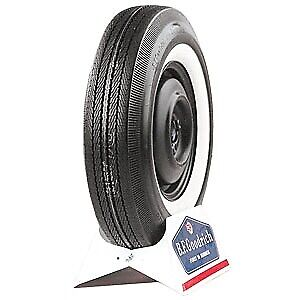 Coker Tire 50900 Coker Bfgoodrich Silvertown Whitewall Bias Ply Tire