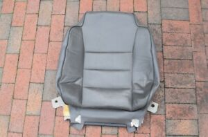 1999 2002 Land Rover Discovery 2 Upper Left Driver Leather Seat Cover Squab Gray