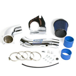Bbk Performance Parts Mustang 3 8l V6 Cold Air Intake Fenderwell Style chrome