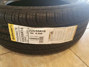 New 225 55r18 Continental Procontact Tx 98h 8 5 32 15498180000 Tire