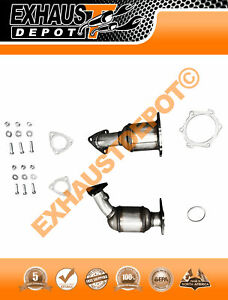 Catalytic Converter Set For 2005 2006 Nissan Maxima 3 5l Bank 1 Bank 2 Set