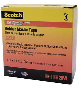 2228 2 x10 Rubber Mastic Tape 7000005986 1 Each