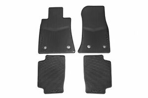 Gm Oem 2013 2019 Cadillac Ats Front Rear All Weather Floor Mats Blackc 22759927