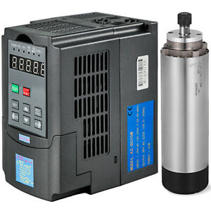 1 5kw Air cooled Spindle Motor 1 5kw Vfd Variable Frequency Drive Inverter 220v