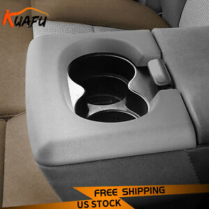 For Ford F150 04 14 Center Console Cup Holder Armrest Pad Replacement Light Grey