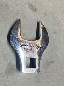 Snap On 1 1 16 Open End Crows Foot 1 2 Drive Sco34