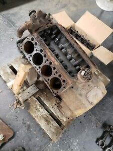 331 Early Hemi Industrial Block Core Engine Mostly Complete
