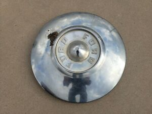 1955 1956 Ford Small Dog Dish Poverty Hubcap Wheelcover Center Cap Free Shipping