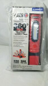 Matco Tools 360 Magnetic Cordless Rechargeable Work Light Sl360mdlx Red