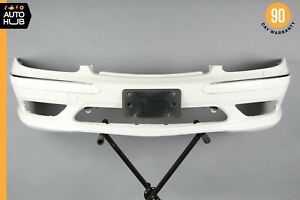 03 06 Mercedes W220 S500 S55 S65 Amg Front Bumper Cover Assembly Sport White Oem